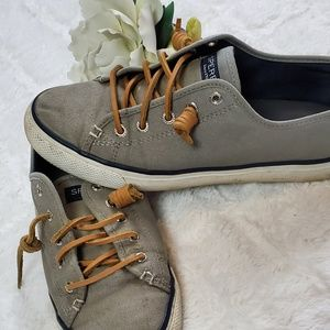 Sperry Gray Topsider Sneaker
